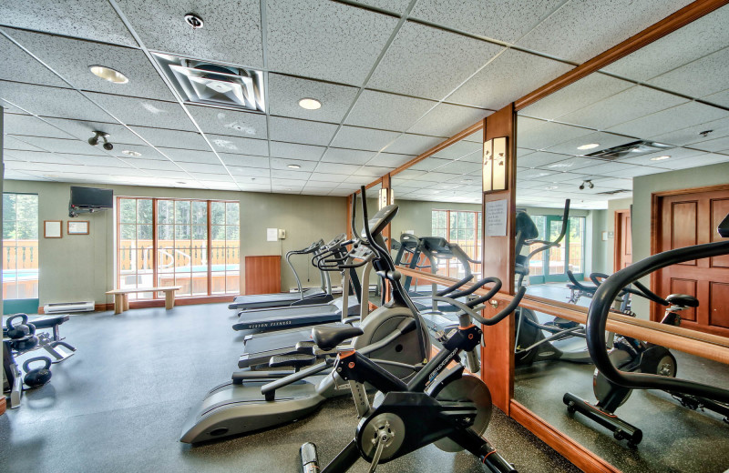 Rental fitness room at Bear Country Property Management (2018) Ltd.