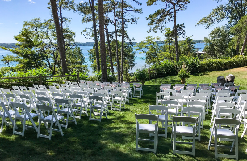 Weddings at Chimney Corners Resort.