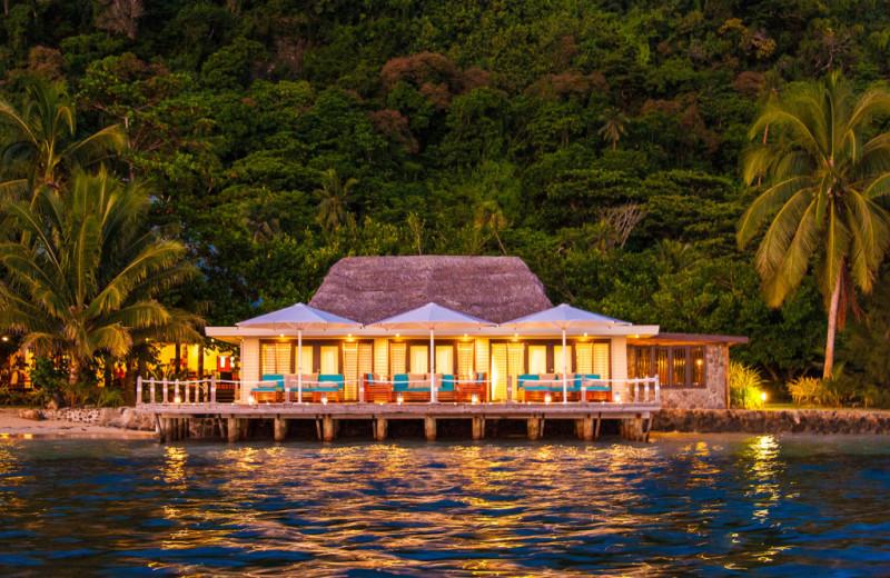 Spa at Matangi Island Resort.