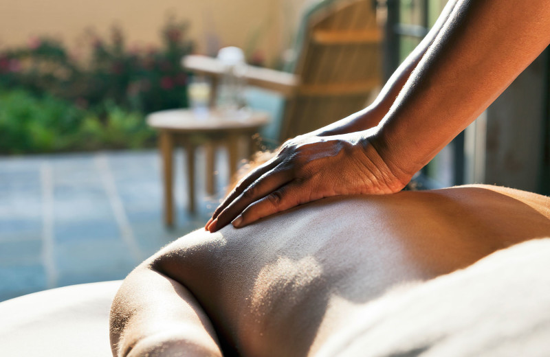 Back massage at Salamander Resort & Spa.