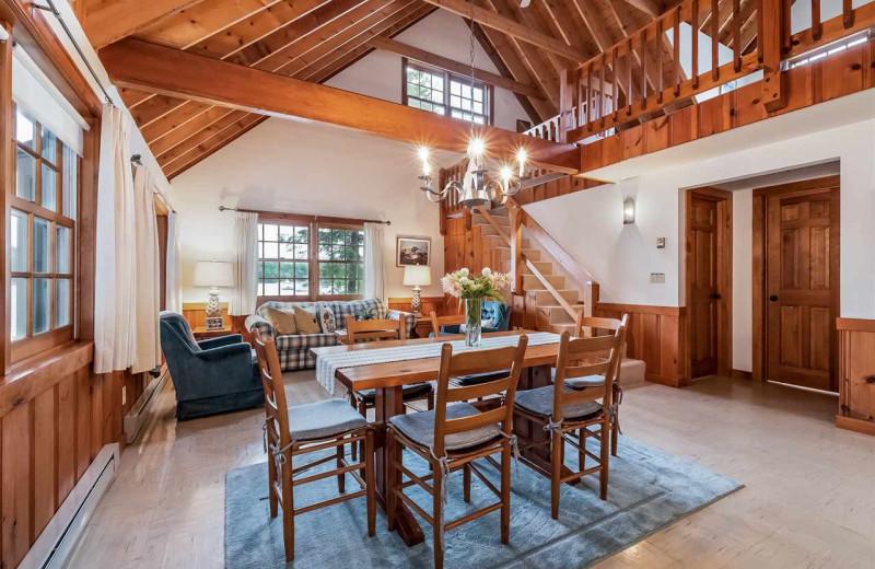 Rental interior at At The Lake Vacation Rentals.