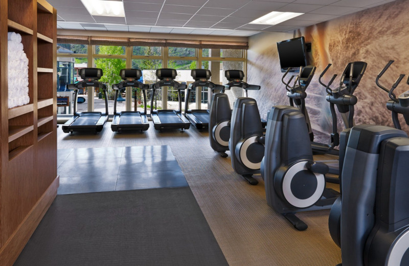 Fitness room at The Westin Snowmass Resort.
