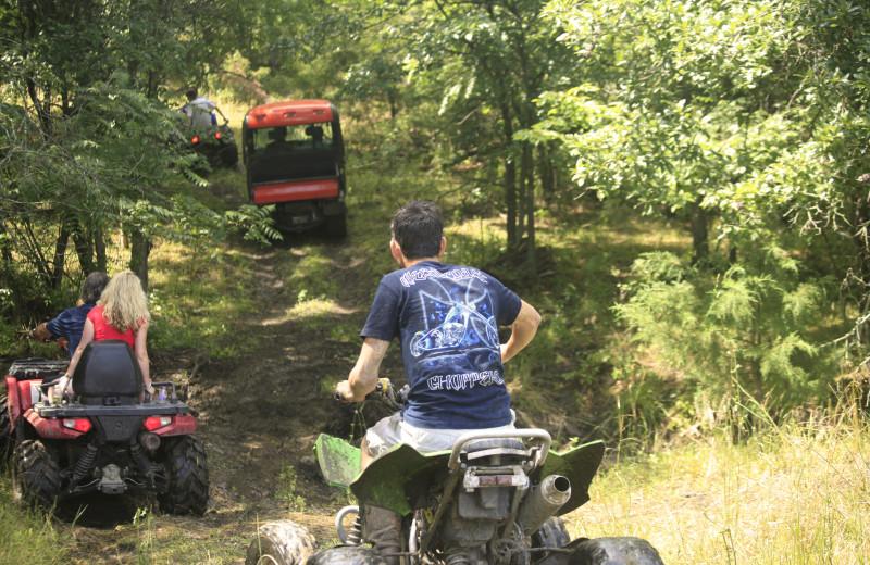 Family ATV rides at Morrell Ranch.