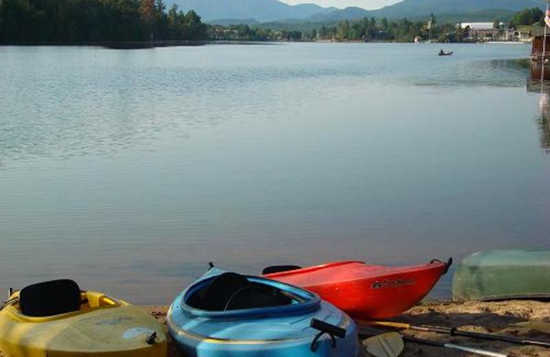 Kayak, canoe and much more at Lake Placid