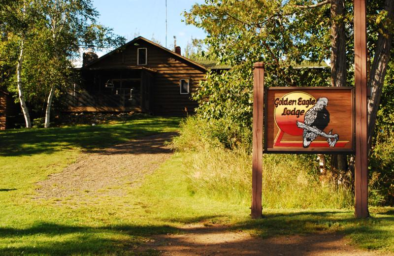 Main lodge at Golden Eagle Lodge.