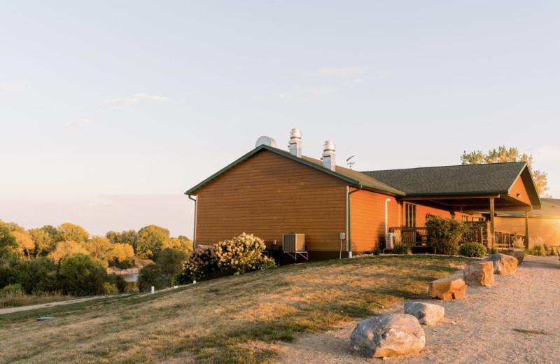 Lodge exterior at Granite Springs Lodge.