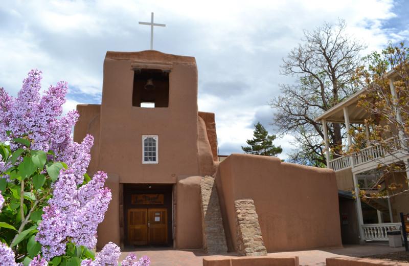 San Miguel Mission Chapel near The Lodge at Santa Fe.