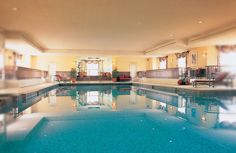 Indoor pool at Nuremore Hotel, Country Club and Golf Course.