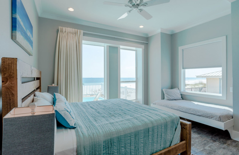 Rental bedroom at Harris Properties Management.