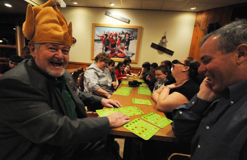 Bingo at Woodloch Resort.