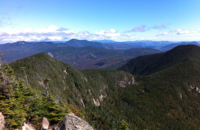 Mountains at Black Bear Lodge.