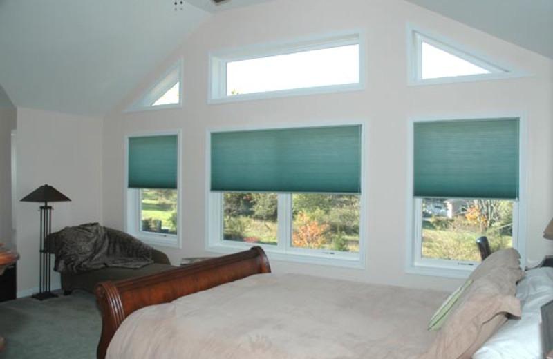 Dream Catcher room window at Moondance Ridge Bed & Breakfast.