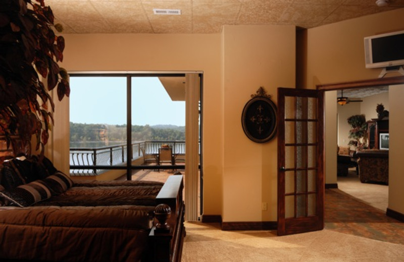 Guest room interior at D' Monaco Luxury Resort.