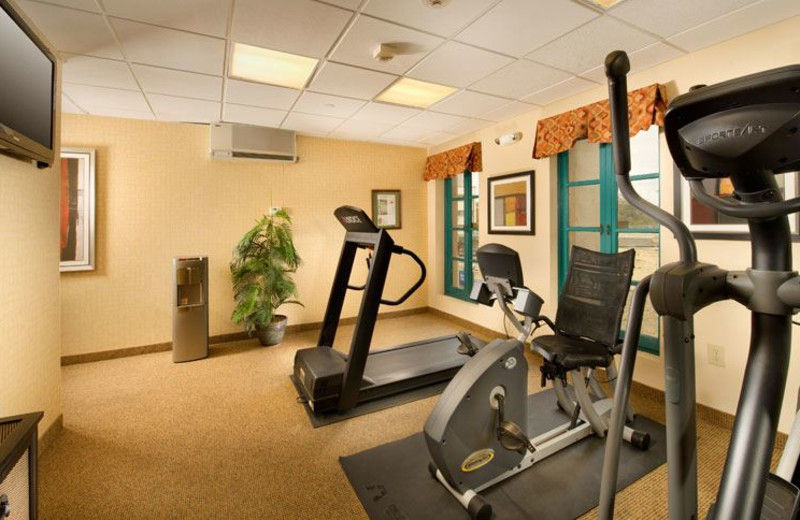 Fitness Center at Holiday Inn Express San Antonio N-Riverwalk Area