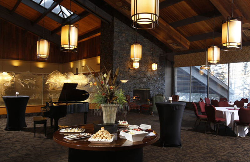 Sitting Area at Banff Park Lodge