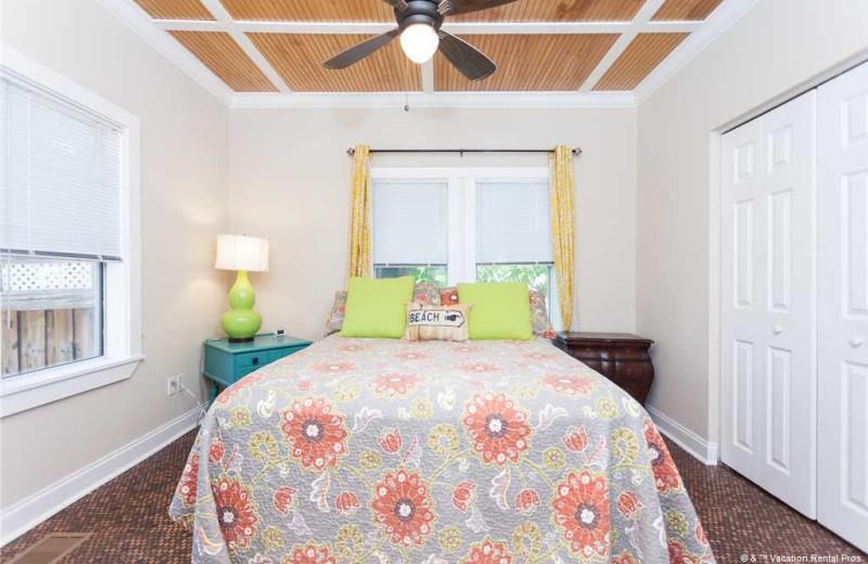 Rental bedroom at Vacation Rental Pros - St. Augustine.