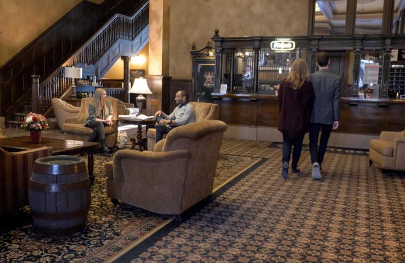 Lobby at Fitger's Inn.