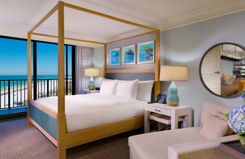 Guest suite at Hilton Sandestin Beach Golf Resort & Spa.