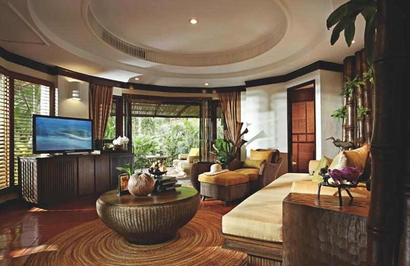 Guest room at Rayavadee Premier Resort.