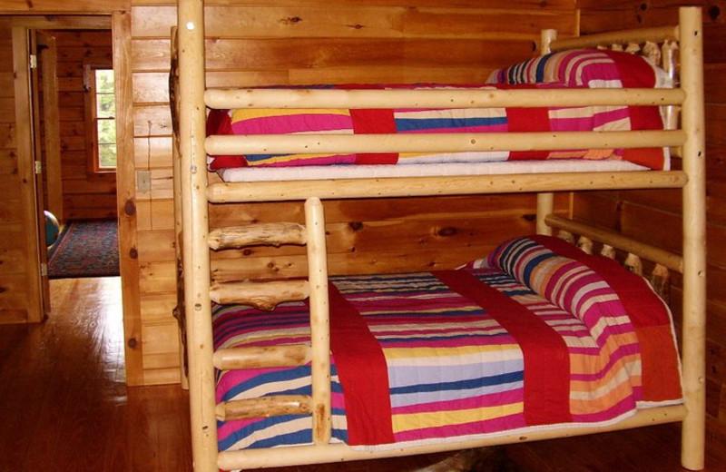 Bunk Rooms at Rivers Ridge Lodge