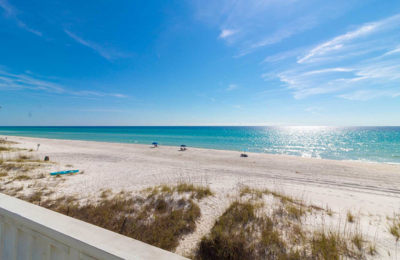 Beach at Paradise Properties Vacation Rentals & Sales.