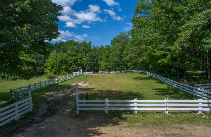 Corral at Roaring Brook Ranch Resort & Conference Center.