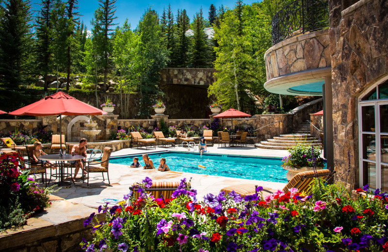 Outdoor pool at Chateau Beaver Creek.