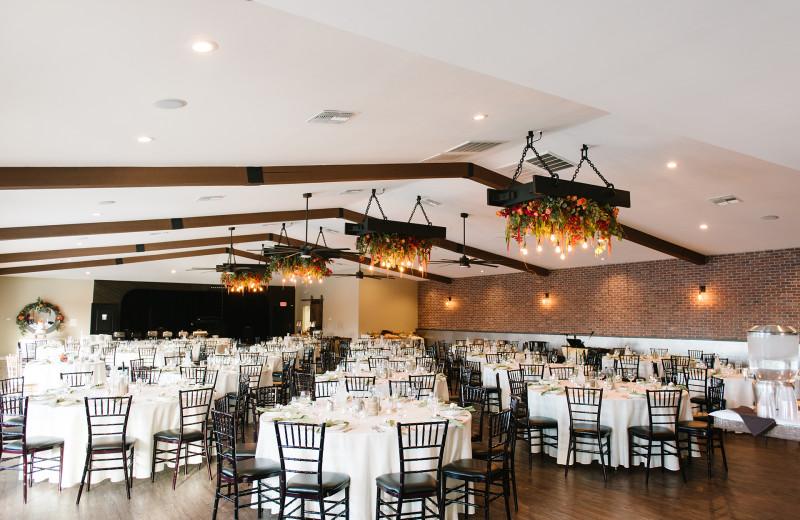 Wedding reception at Havasu Springs Resort.