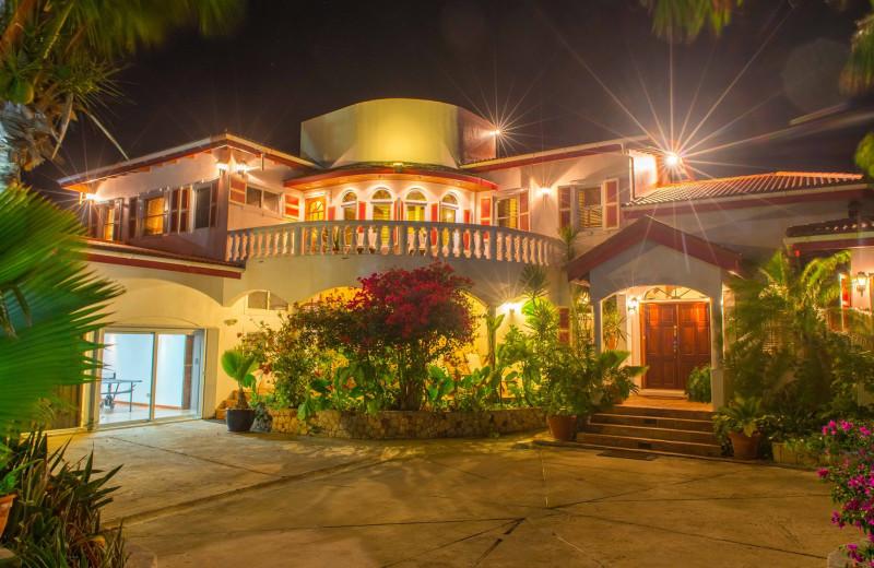 Exterior view of Villa Coyaba.