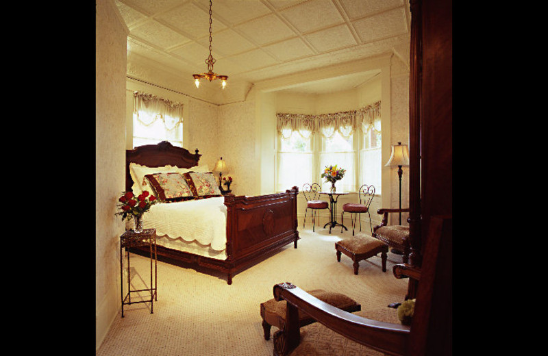 Guest room at England House.