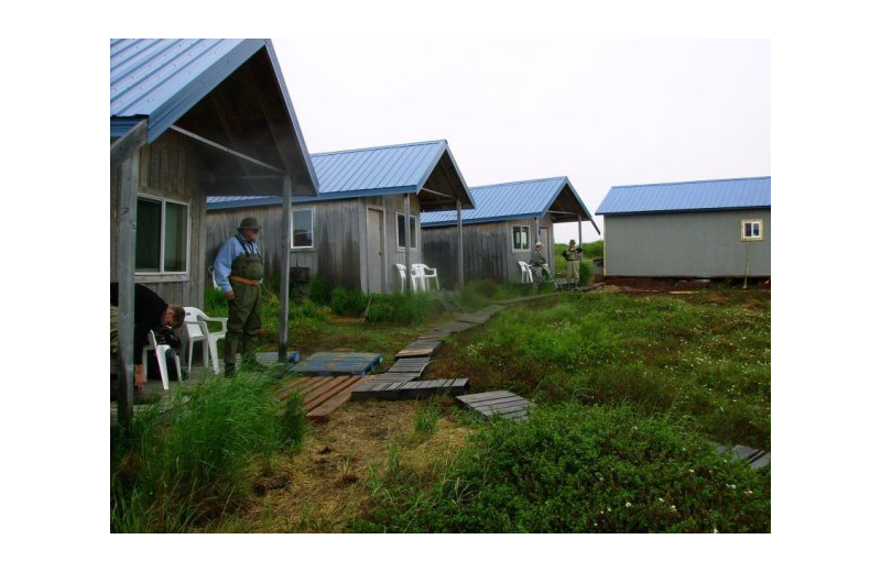 Exterior view of Naknek River Camp.