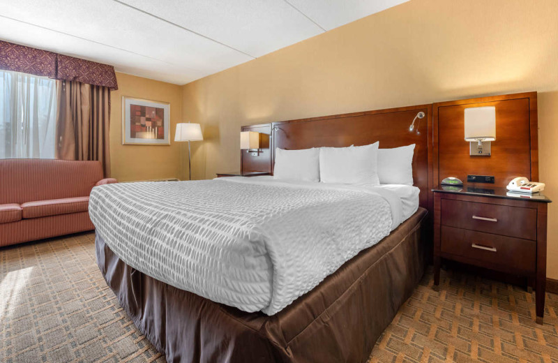 Guest room at Clarion Hotel Marina