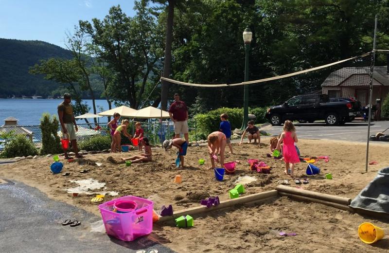 Sand Volleyball/Playground/Sandbox Area Boulders Resort
