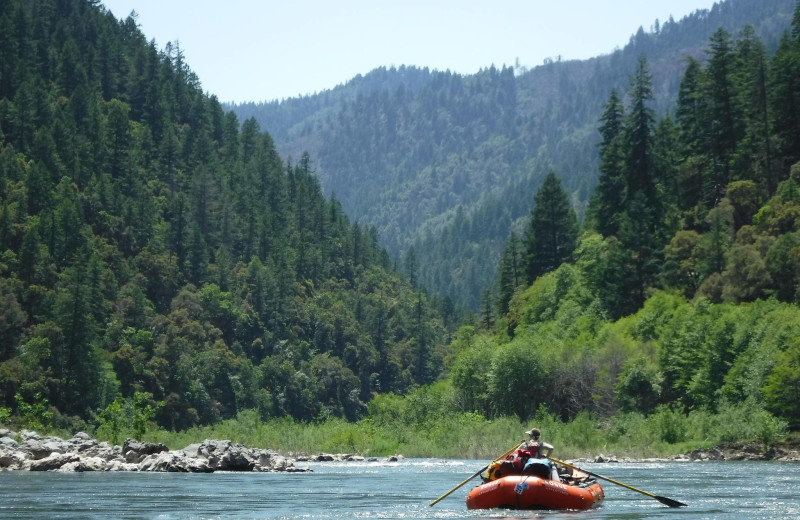 Rafting at Morrison's Rogue River Lodge.