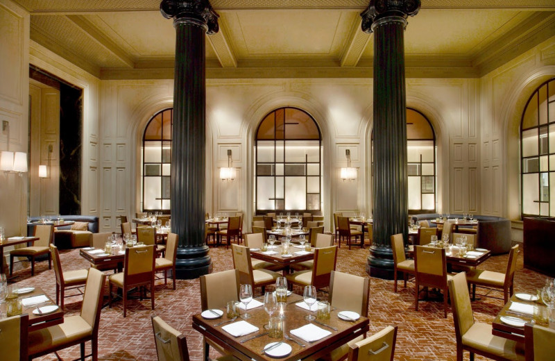Dining room at The Westin St. Francis.