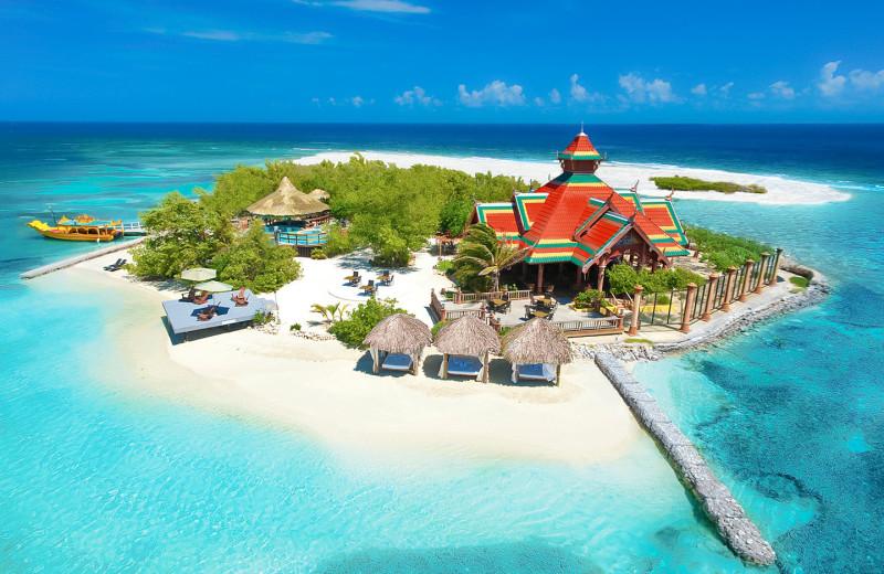 Island at Sandals Royal Caribbean Resort & Offshore Island.