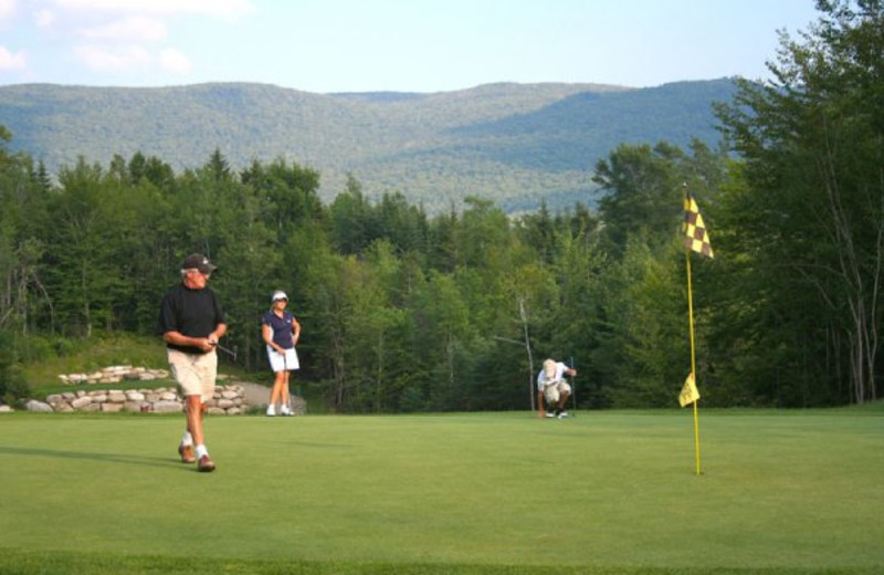 Golf at The Golden Eagle Lodge.