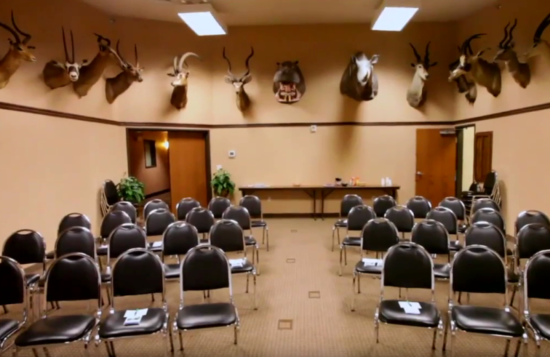 Meeting room at Rushmore Express Inn & Family Suites.