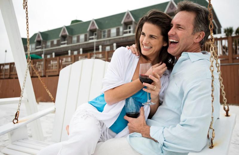 Couple at Henderson Park Inn.