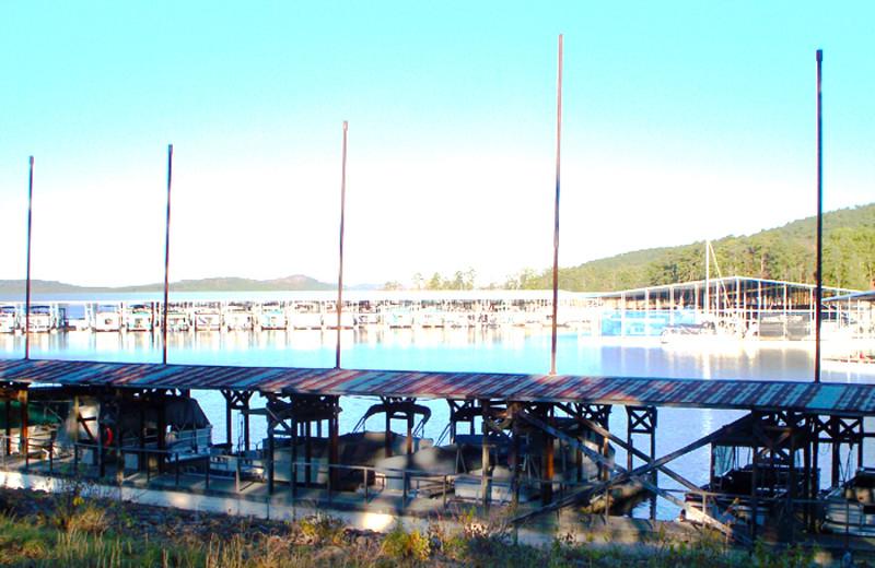 Marina at Brady Mountain Resort & Marina.