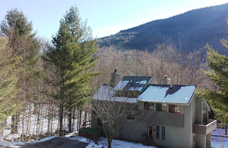 Rental exterior at Loon Reservation Service.