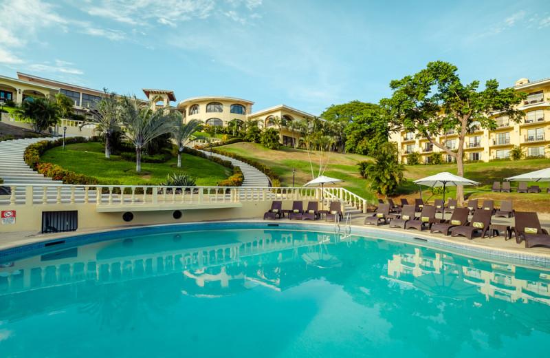 Outdoor pool at Occidental Grand Papagayo Resort.