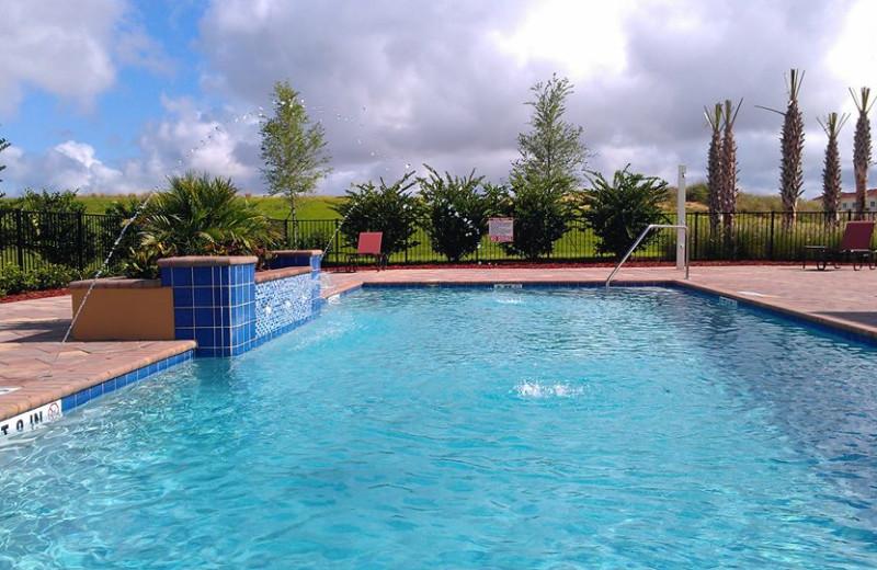 Resort Swimming Pool at Advantage Vacation Homes
