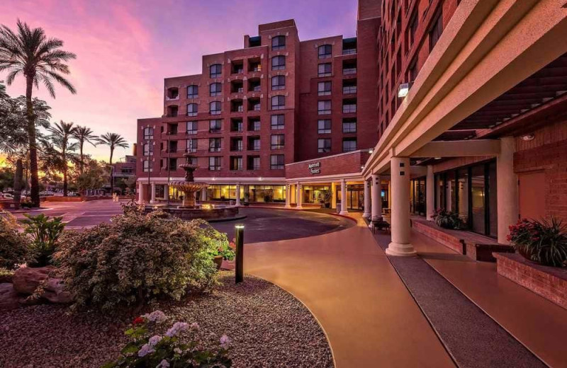 Exterior view of Scottsdale Marriott Suites Old Town.