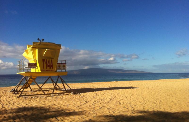 Big Beach near Maui Kamaole.