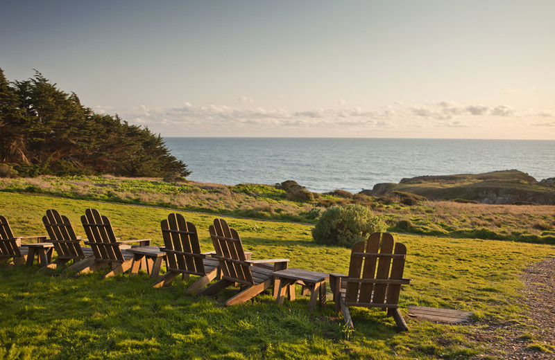Relaxing at Sea Ranch Lodge.