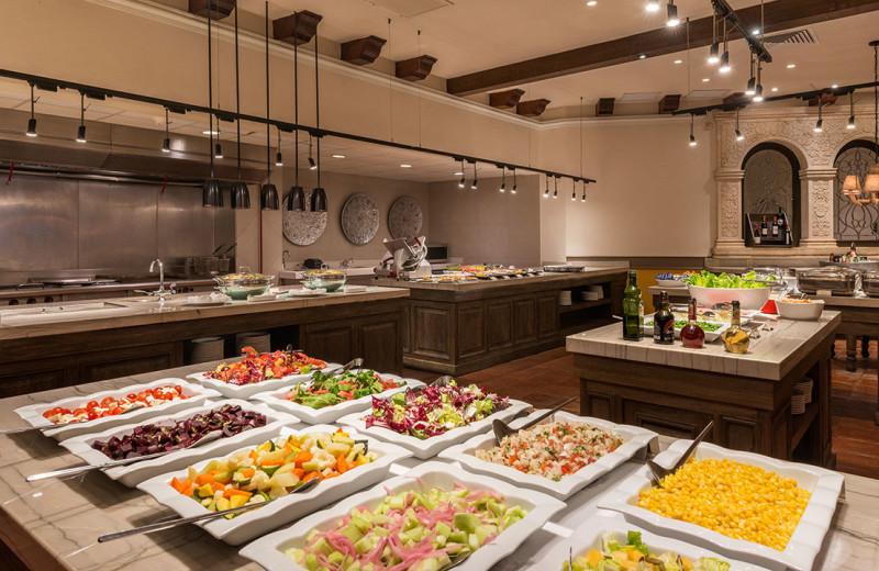 Dining at Hyatt Regency Merida.
