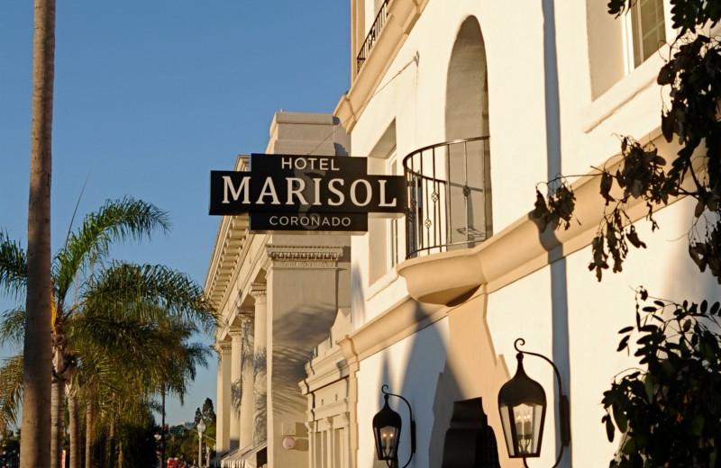 Exterior view of Hotel Marisol Coronado.