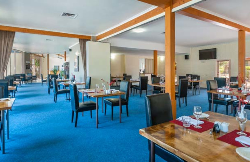 Dining room at Mildura Inlander Resort.