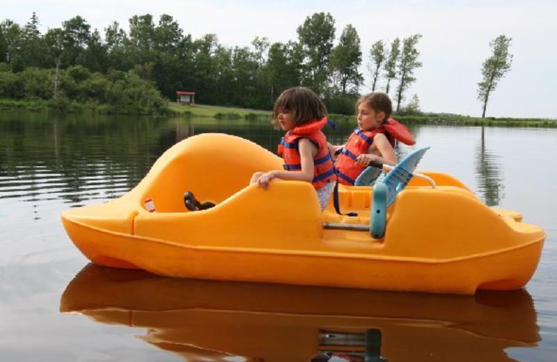 Paddleboat Rentals at Pictou Lodge Resort